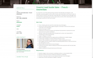 screenshot 2 abroad experience website