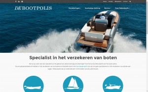 screenshot 1 debootpolis website