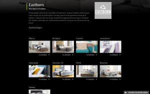 Screenshot website Truste Slaapcomfort