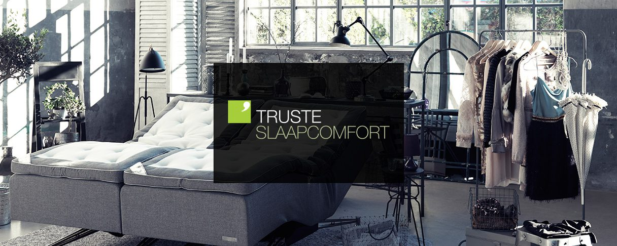 Header Truste Slaapcomfort website