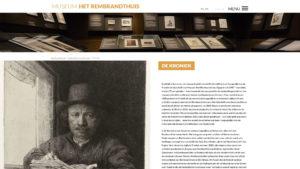 Website Het Rembrandthuis