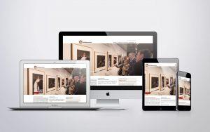 responsive webdesign museum het rembrandthuis