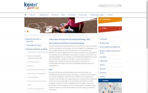 screenshot 1 kenter jeugdhulp website