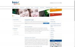 screenshot 3 kenter jeugdhulp website