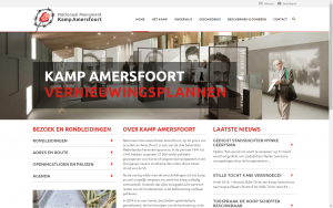 screenshot 3 kampamersfoort website