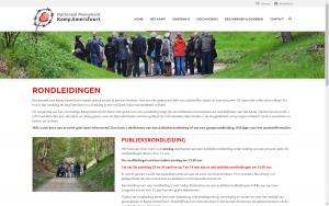 screenshot 2 kampamersfoort website