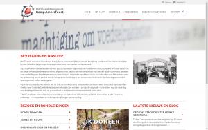 screenshot 1 kampamersfoort website