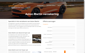 screenshot 4 sportwagenpolis website