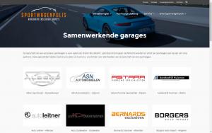 screenshot 2 sportwagenpolis website