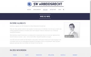 screenshot 3 stella willebrands website