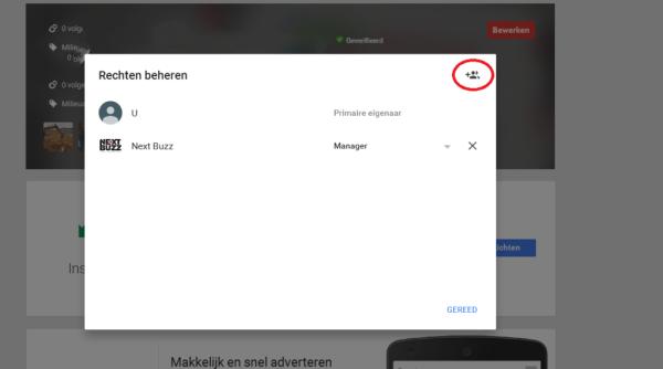 Google mijn bedrijf gebruiker toevoegen