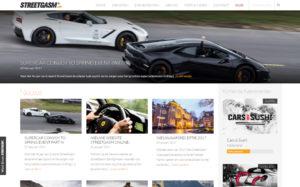 Streetgasm website