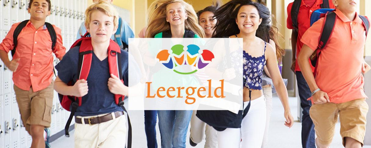 Leergeld header