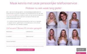 Call info website