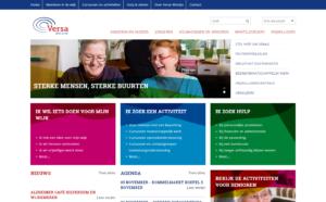 Versa Welzijn website