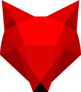 geometrische vos rood flat design blog nextbuzz daniel bijmolen