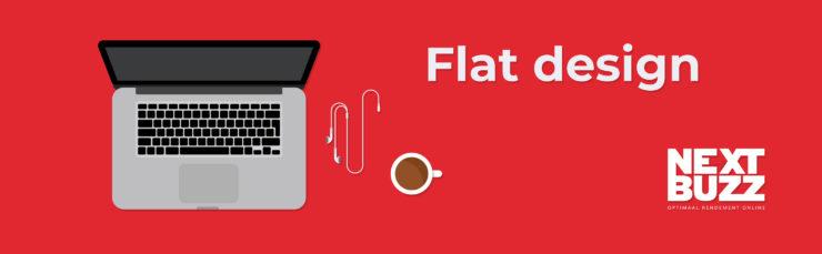 Flat design trends 2018