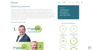 Autonomic - Werken bij