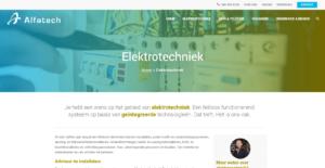Alfatech - Elektrotechniek