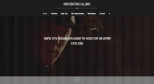 Introducing gallery - Home