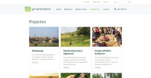 Groenbalans projecten