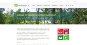 Groenbalans website