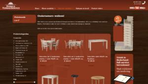 Horeca en terras service gebruikt meubilair