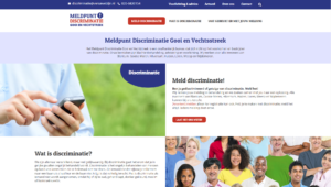 Meldpunt discriminatie home pagina