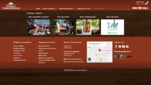 Horeca en terras service website