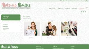 Make up Matters webshop