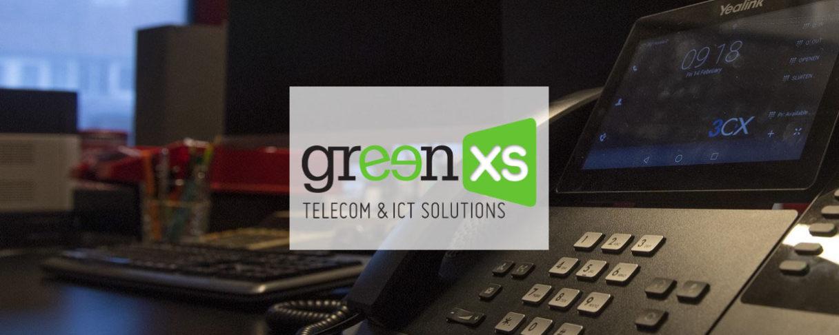 Green XS header