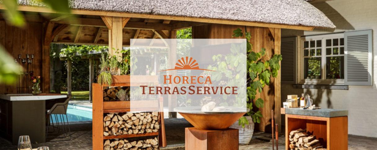Horeca en terras service header