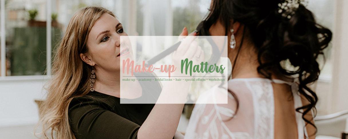Make up matters header foto