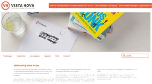 Vista Nova website