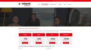 Content Amersfoort Website