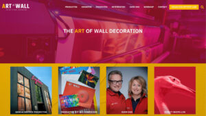Nieuwe website Art To Wall